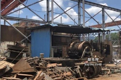 天津廢舊設備拆除公司回收廢舊二手工廠設備流水線產品圖