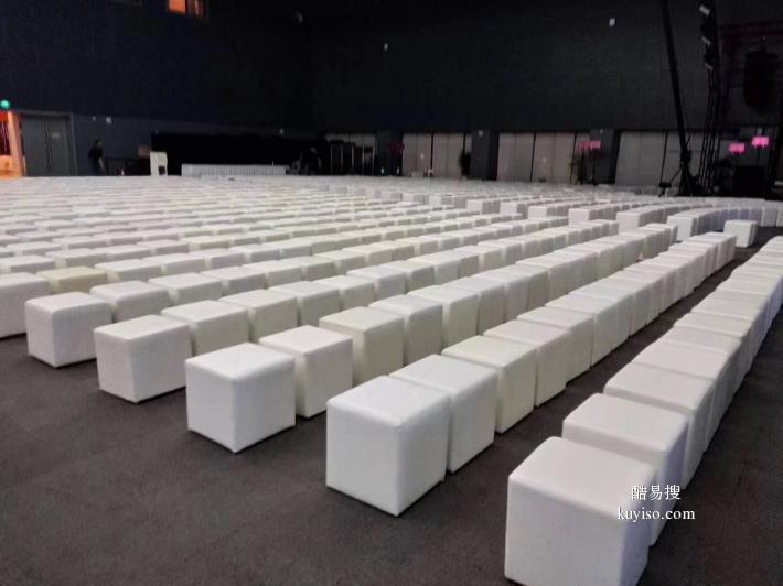 北京全新沙發轉椅租賃 會議貴賓沙發租賃 皮方凳租賃產品圖